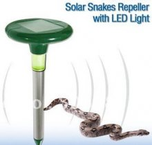 Repellent coils 832-A816, vibration - solar power snake repeller